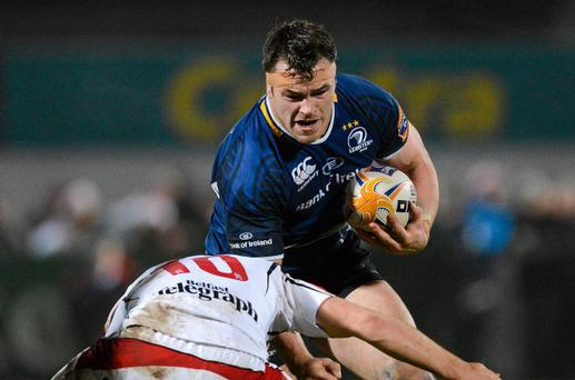Cian Healy in action for Leinster