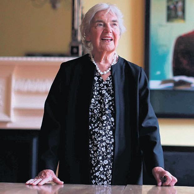 Myrtle Allen has received awards for her outstanding contribution to the Irish food industry