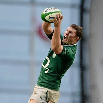 Donnacha Ryan has made a superb impact since coming into the Ireland set-up