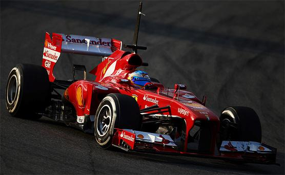 Fernando Alonso the new F1 Ferrari