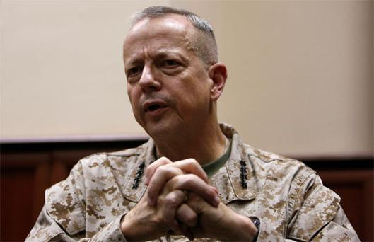 General John Allen: has left the US military
