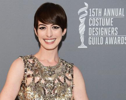 Anne Hathaway was targetted by 'Hathahaters' on line