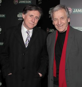 Actor Gabriel Bryne and director Costa Gavras