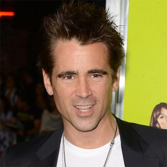 Colin Farrell had almost €14m in earnings in 2012