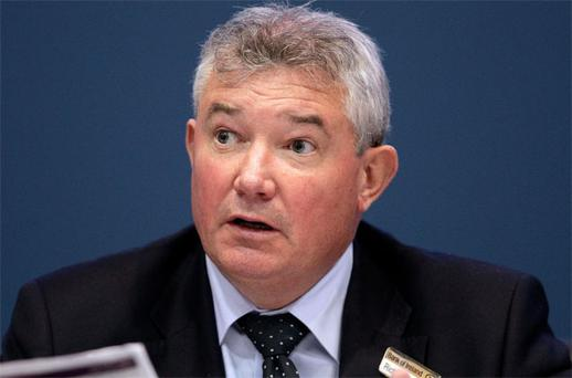 Richie Boucher told staff via email that 'significant changes in the economic, pensions and regulatory environment' were to blame for the pension scheme shortfall.