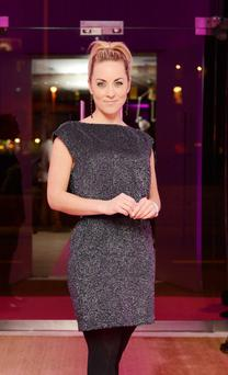 Kathryn Thomas at the reopening night of the Morrison Hotel on Ormond Quay