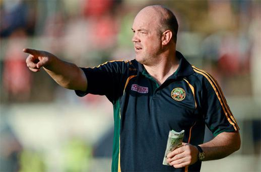 Offaly manager Ollie Baker
