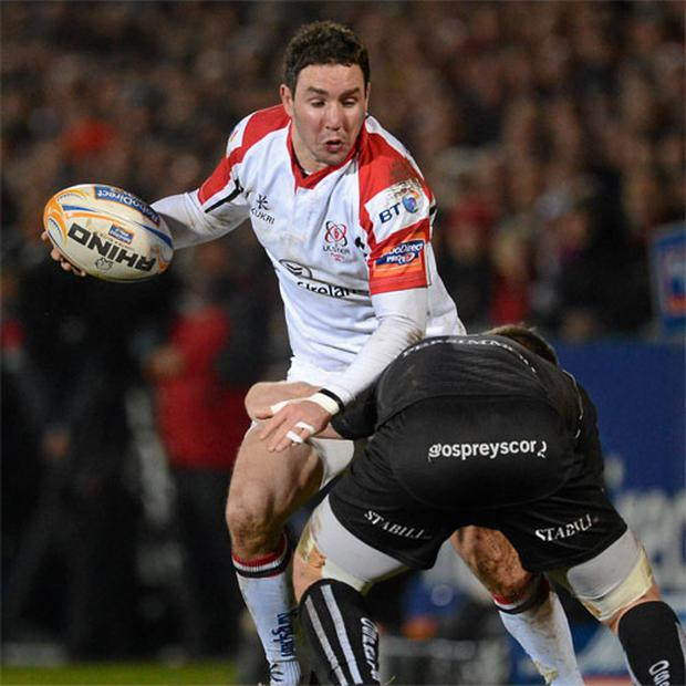 Paddy Wallace in action for Ulster
