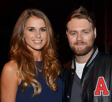 Brian McFadden is hoping to have a son with wife Vogue Williams
