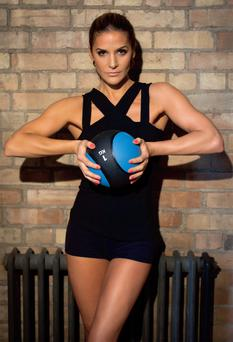 Amanda Byram. Photo Kip Carroll courtesy of Fit Magazine.