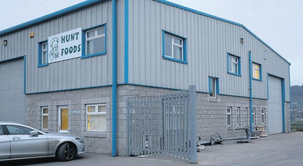 The B&F Meats facility in Carrick-on-Suir, Co Tipperary.