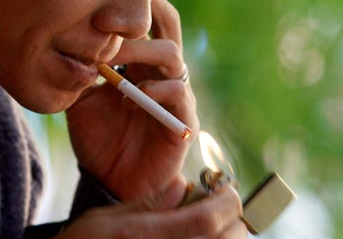 A quarter of cigarettes smoked here are illegal