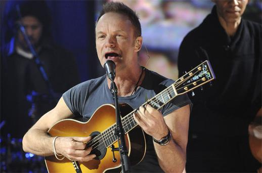 Sting: noted environmentalist