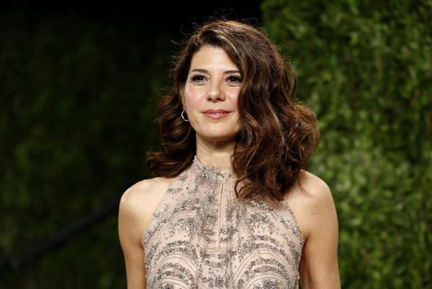 Marisa Tomei attends the 2013 Vanity Fair Oscars Party in West Hollywood, California February 24, 2013. REUTERS/Danny Moloshok (UNITED STATES TAGS:ENTERTAINMENT) (OSCARS-PARTIES)