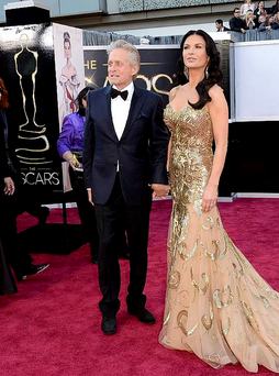 Michael Douglas and Catherine Zeta Jones wowed on the red carpet