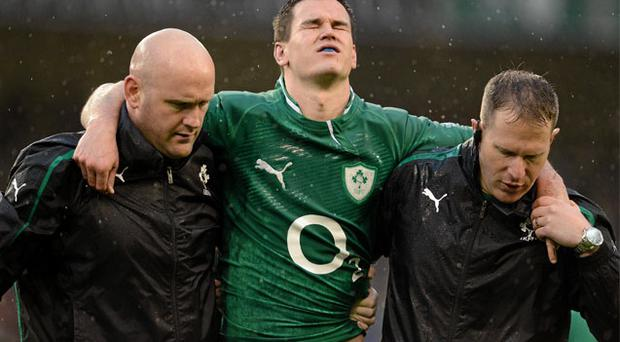 Jonathan Sexton will miss the France game
