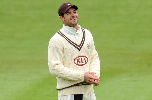 Surrey cricketer Tom Maynard