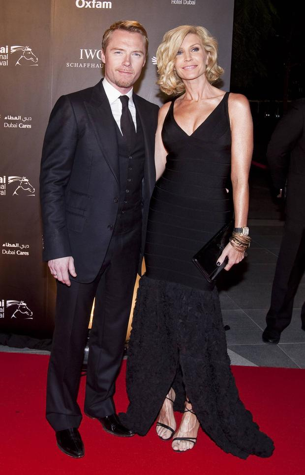 Ronan Keating and ex-wife Yvonne