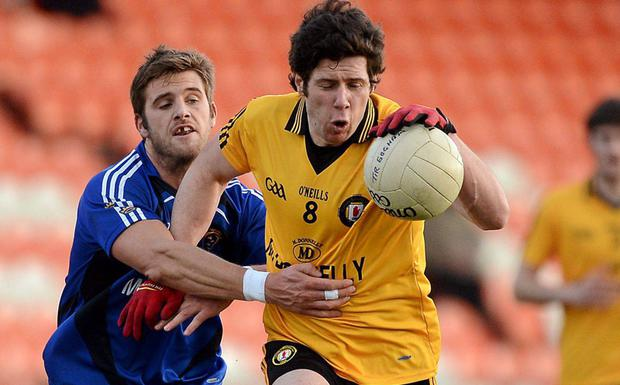 Sean Cavanagh in action for Ulster