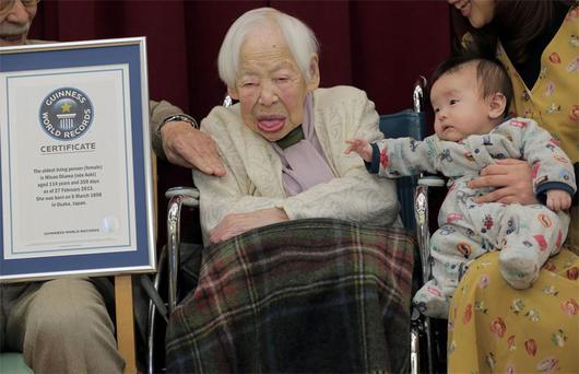 Japan's 114-year-old Misao Okawa