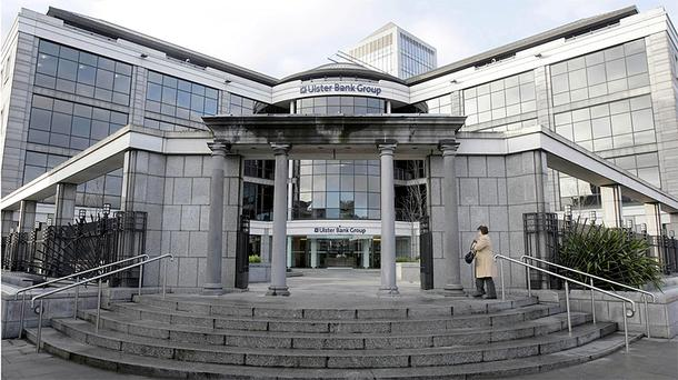 Ulster Bank's Dublin headquarters