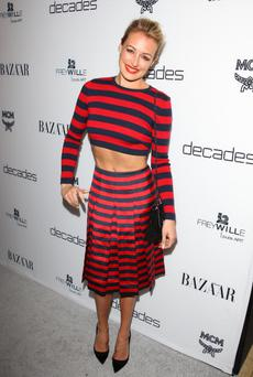 WEST HOLLYWOOD, CA - FEBRUARY 28: Cat Deeley attends the Dukes Of Melrose launch hosted by Decades and Harper's BAZAAR at The Terrace at Sunset Tower on February 28, 2013 in West Hollywood, California. (Photo by JB Lacroix/WireImage)