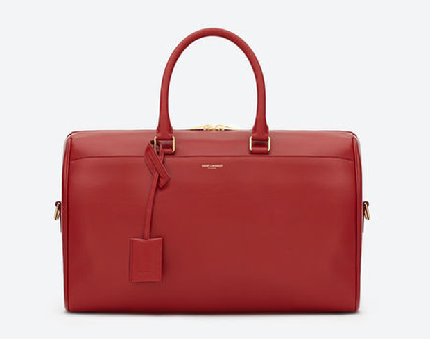 Saint Laurent duffle bag: the style is classically clean so won't outdate