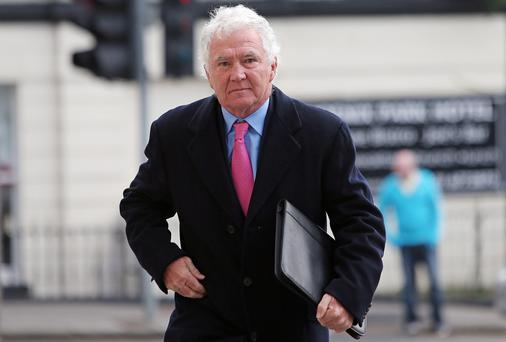 Former Anglo Irish Bank chief executive and chairman Sean Fitzpatrick