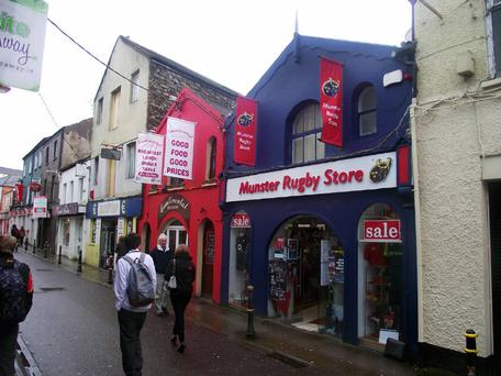 The Munster Rugby store in Cork
