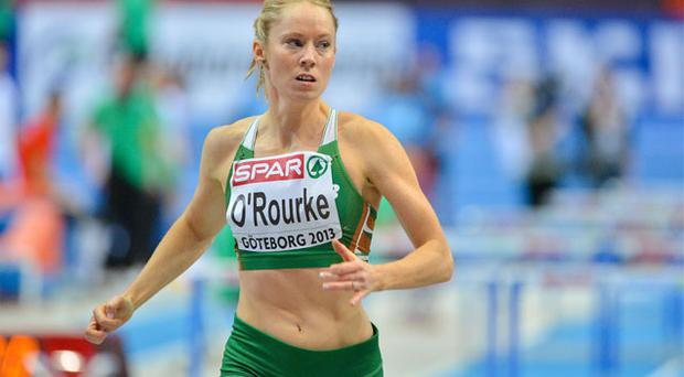 01 March: Derval O'Rourke cruised through her 60m hurdles heats at the European Indoor Championships in Gothenburg to earn her an automatic semi-final slot.