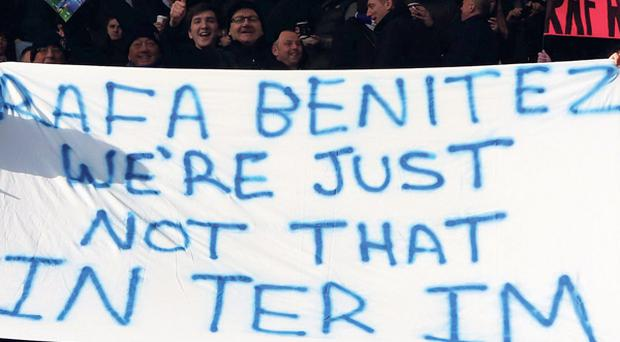 The crowd don't play,' Steve Clarke said later, even if Benitez thought their influence had been great