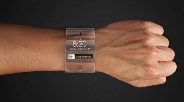 One of many mock-ups of how Apple's iWatch might look