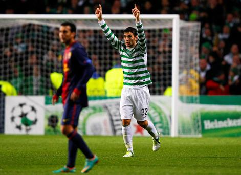 Celtic's Tony Watt