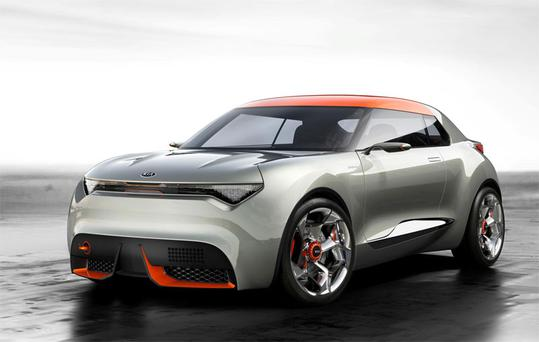 Kia's new concept car, Provo