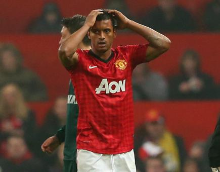 Man United midfielder Nani