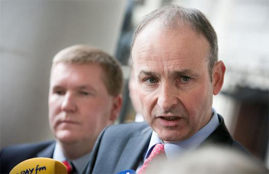 The Coalition benefited from Fianna Fail leader Micheal Martin's party being toxic after the last election