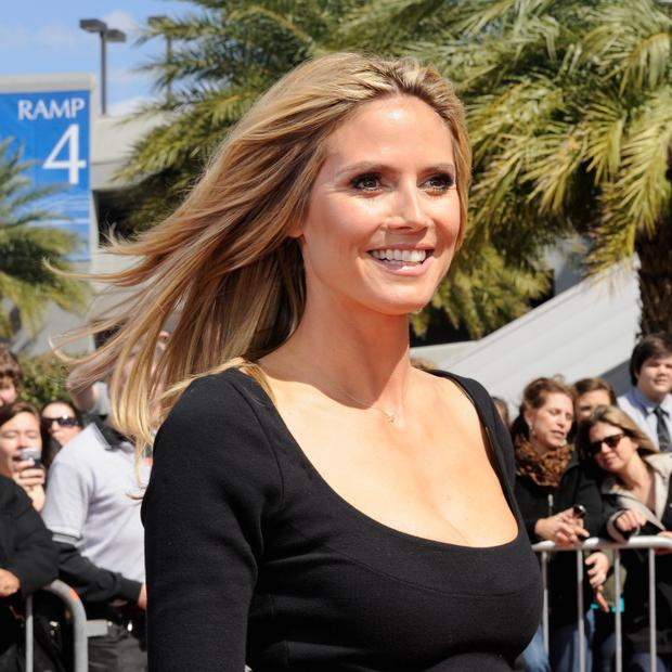 "Heidi Klum attends the ""America's Got Talent"" New Orleans auditions as a judge. (Photo by Erika Goldring/Getty Images)"