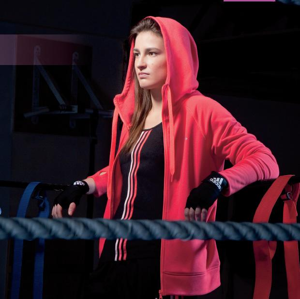 Katie Taylor in the ring. As originally seen in Fit magazine.