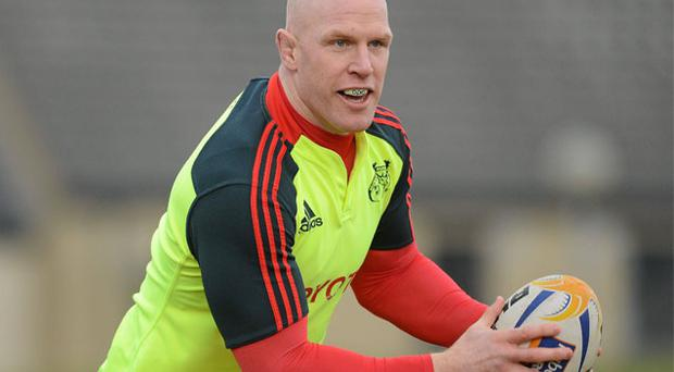 Paul O'Connell will make his competitive return for Munster 'A' next Tuesday
