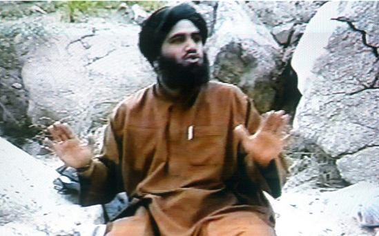 Suleiman Abu Ghaith, the spokesman of alleged terror mastermind Osama bin Laden's al-Qaeda network, claiming responsibility for the September 11 suicide attacks in the United States