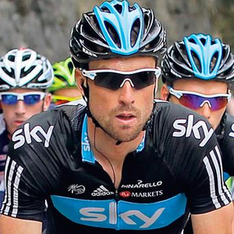 Riche Porte won the fifth stage of the Paris-Nice to take the overall lead in the race