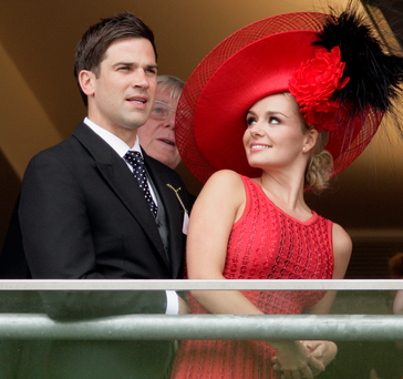 Katherine split from TV star Gethin Jones in 2011, after accepting his marriage proposal ten months earlier.