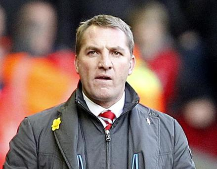 Liverpool manager Brendan Rodgers. Picture: PA