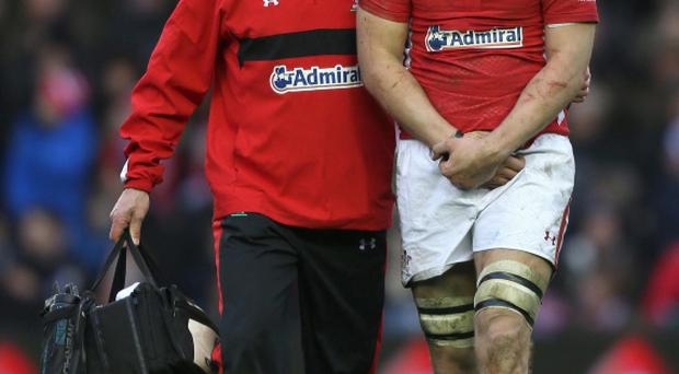 Wales captain Ryan Jones has been ruled out of Saturday's RBS 6 Nations title decider against England