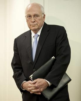 Former US Vice President Cheney
