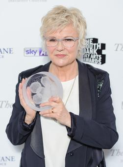 Julie Walters has been honoured with an outstanding achievement award.