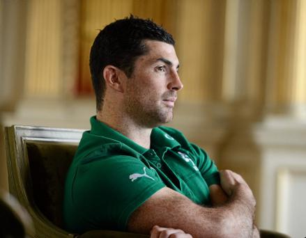 Ireland's Rob Kearney during a press conference. Photo: Sportsfile