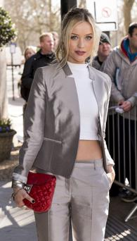 Laura Whitmore (Photo by Mark Cuthbert/UK Press via Getty Images)