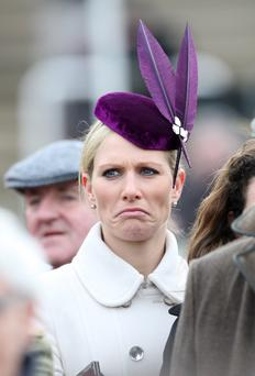 Princess Anne's daughter was left unimpressed by the actions of overzealous security
