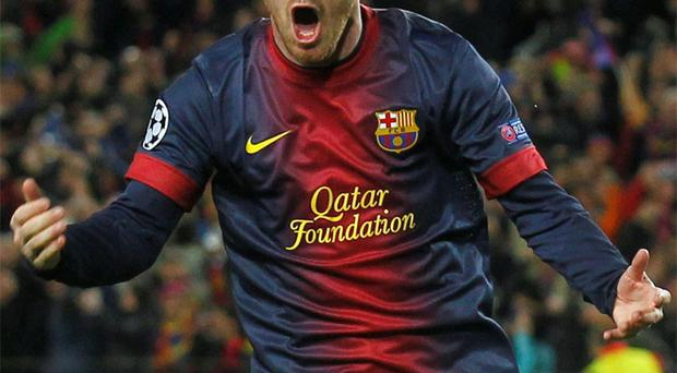 Lionel Messi was the star of the show as Barcelona staged an amazing comeback from their first leg defeat to AC Milan